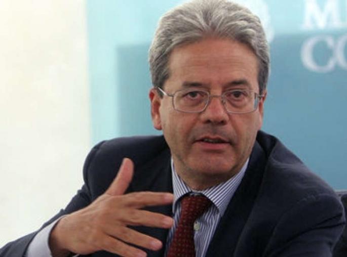 وزير الخارجية الايطالي باولو جينتيلوني