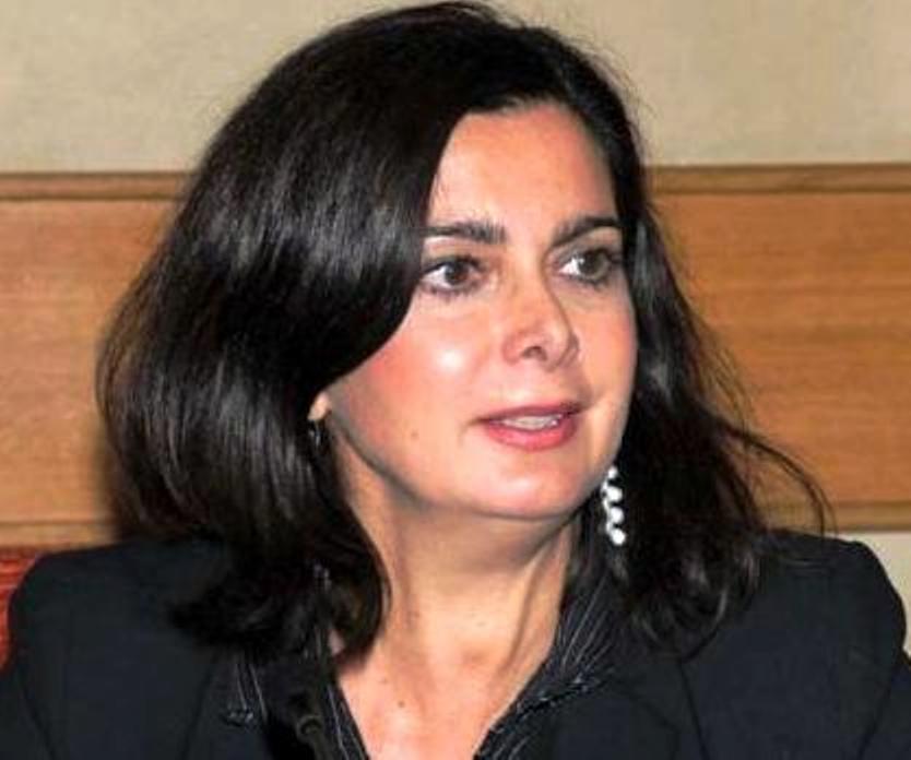 رئيسة مجلس النواب الايطالي  لاورا بولدريني