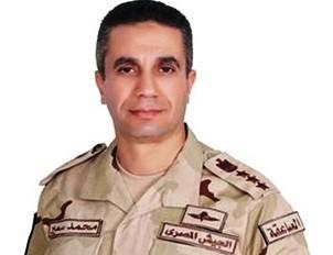 المتحدث العسكري المصري العميد محمد سمير