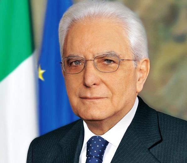 رئيس الجمهورية الإيطالية سيرجو ماتّاريلا