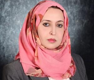 البرلمانية الليبية سهام سرقيوة