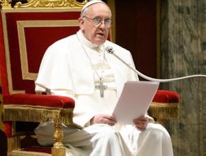 البابا فرنسيس خلال مقابلة خاصة