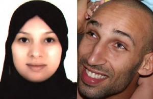 عبد الرحيم متحرك وزوجته