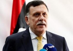 رئيس المجلس الرئاسي لحكومة الوفاق الوطنية اللليبية فايز السراج