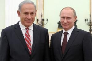 فلاديمير بوتين و بنيامين نتنياهو