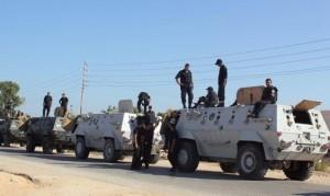قوات شرطة في سيناء