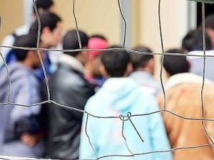 مركز استقبال مهاجرين