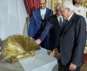 رئيس الجمهورية الإيطالي سيرجو ماتّاريلا