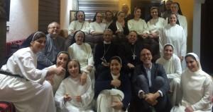 أليساندرو مونتيدورو في زيارته لمسيحيي العراق
