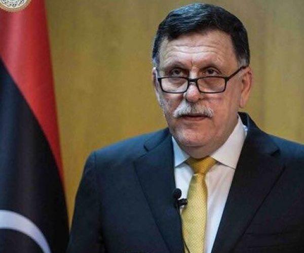ليبيا: السراج يتلقى مكالمة هاتفية من رئيس الوزراء الإيطالي
