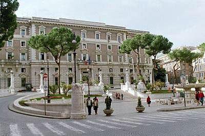 مقر وزارة الداخلية الإيطالية قصر ڤيمينالي