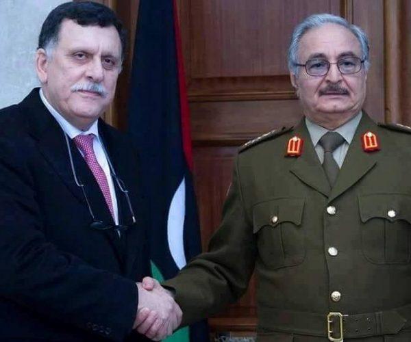مصدر بحكومة الوفاق الليبية: السراج وافق على لقاء حفتر بباريس الأسبوع القادم