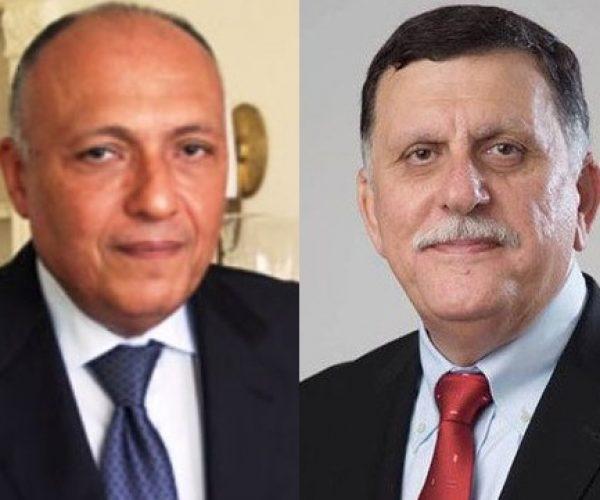 شكري يلتقي رئيس المجلس الرئاسي الليبي في نيويورك
