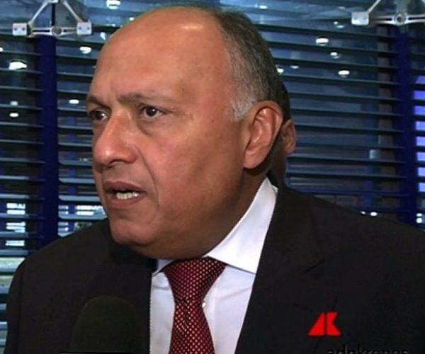 وزير خارجية مصر يستعرض مع المبعوث الاممي سُبل دفع مسار تسوية الأزمة الليبية