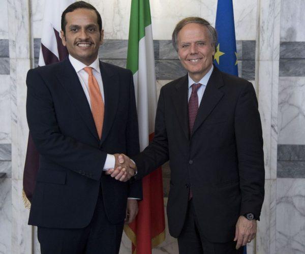 إيطاليا تجدد الدعوة لحل دبلوماسي لأزمة دول الخليج العربية
