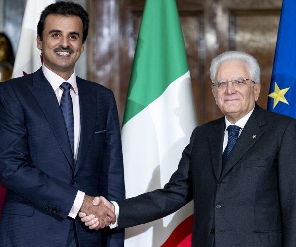 برلمانية إيطالية تستهجن استقبال بلادها لأمير قطر