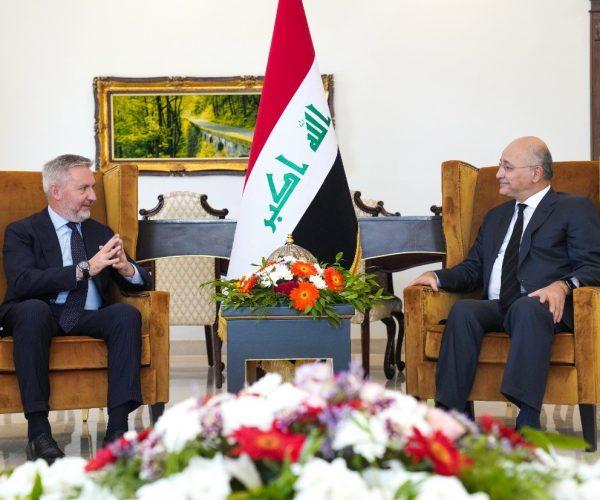 وزير الدفاع الإيطالي: محاربة الإرهاب في العراق أولوية بالنسبة لنا